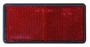 Heijastin 100x45 Punainen Tarrakiinnitys