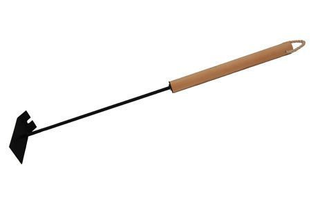 Hiilikola 70cm Musta Puukahvalla Htt