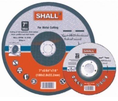 Hiomalaikka Metallille 125x6.0x22.2mm Shall