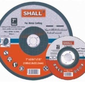 Hiomalaikka Metallille 180x6.0x22.2mm Shall