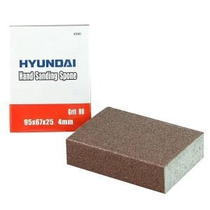 Hiontatyyny Hyundai 95x67x25mm Karkeus 80