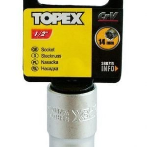 """Hylsy 1/2"""" 14mm Topex"""