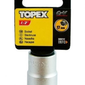 "Hylsy 1/2"" 17mm Topex"