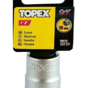"Hylsy 1/2"" 19mm Topex"