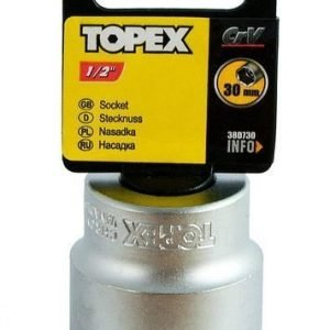 """Hylsy 1/2"""" 30mm Topex"""