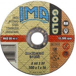 Ima Katkaisulaikka Metallille 100 Mm