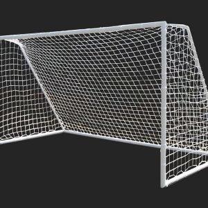 Jalkapallomaali 365x198x183cm Terästä