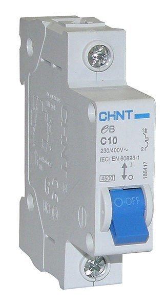 Johdonsuoja-Automaatti 10a 1-Napainen Käyrä C