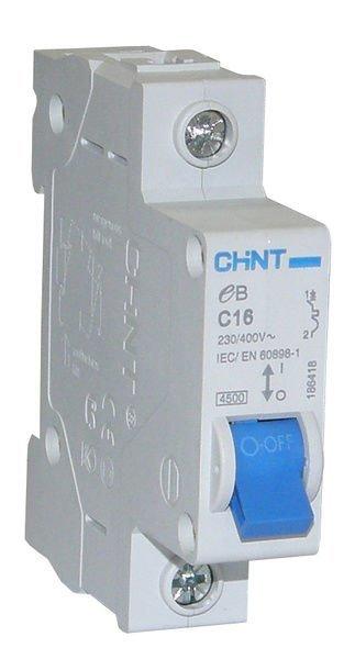 Johdonsuoja-Automaatti 16a 1-Napainen C-Käyrä