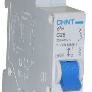 Johdonsuoja-Automaatti 25a 1-Napainen C-Käyrä