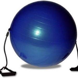Jumppapallo 65cm Kuminauhoilla