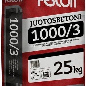 Juotosbetoni Fescon JB 1000/3 25 kg säkki