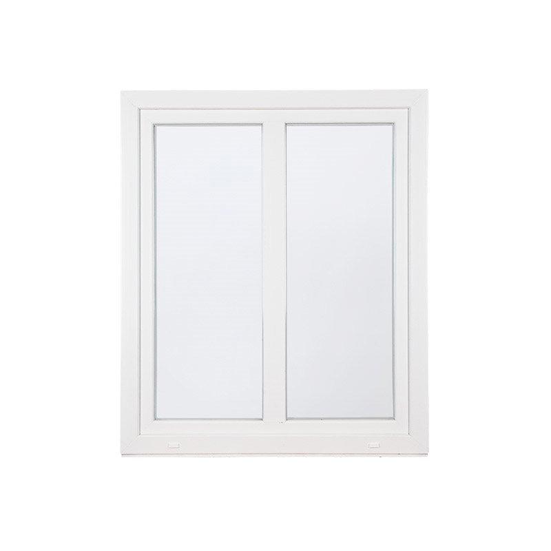 Kääntökippi-ikkuna PVC 2-aukkoinen Valkoinen