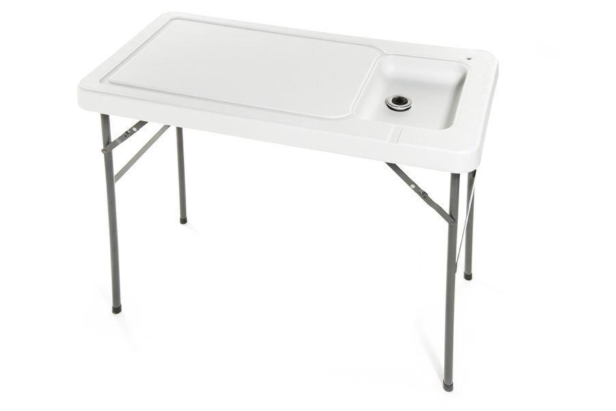 Kalanperkuupöytä / Tiskipöytä / Pesupöytä Hanalla Kokoonmenevä 115x60