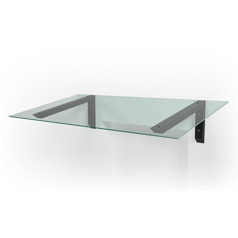 Kannake Bold Black Clear Glass