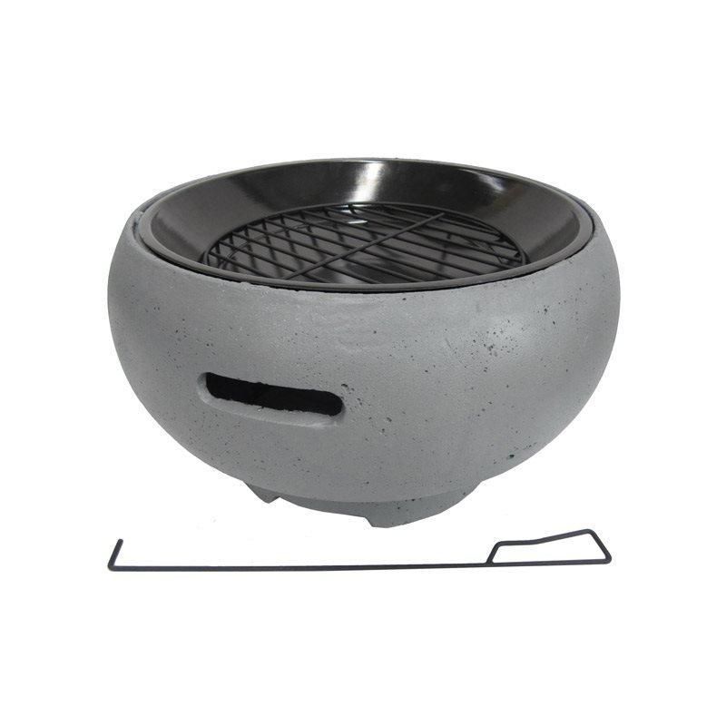 Kannettava grilli BBQ Grill Tub Harmaa