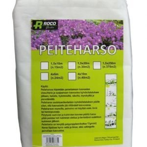 Kateharso / Peiteharso 4x6m Roco Garden