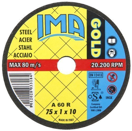 Katkaisulaikka Metallille 75x1mm Ima