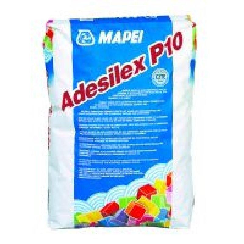 Kiinnityslaasti Adesilex P10 25 kg valkoinen