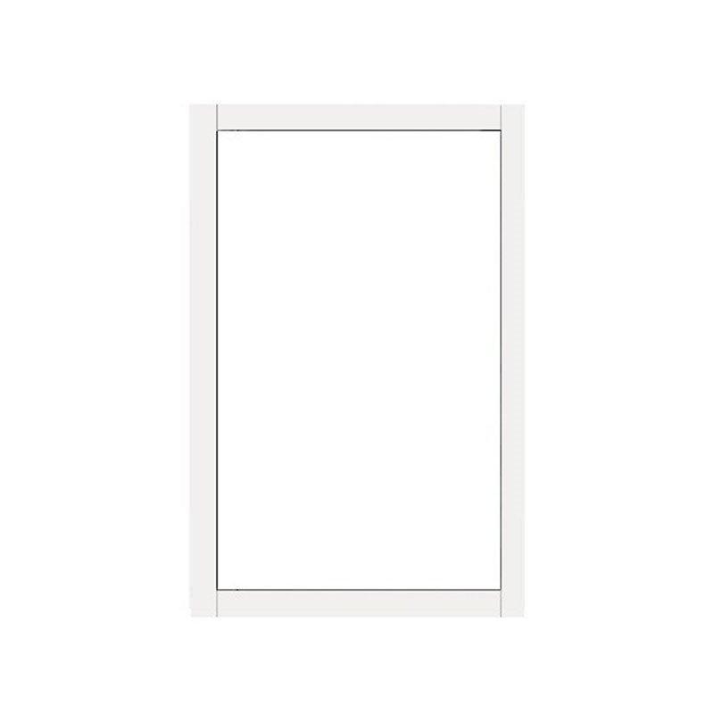Kiinteä ikkuna Isomax Valkoinen