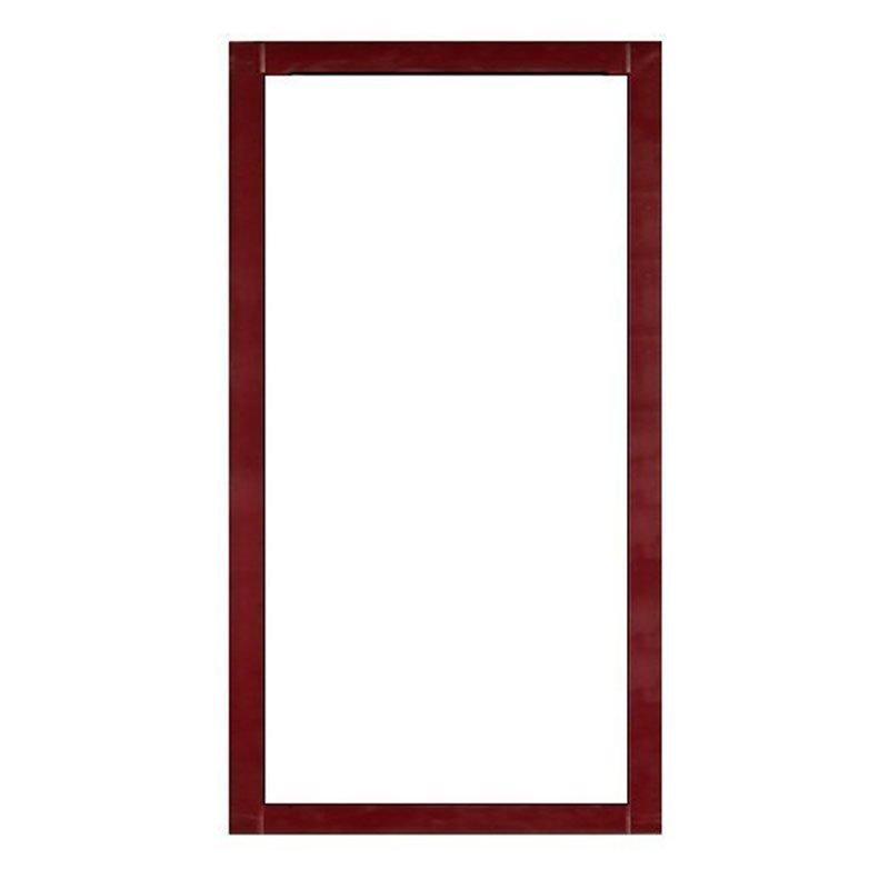 Kiinteä ikkuna Isomax Viininpunainen