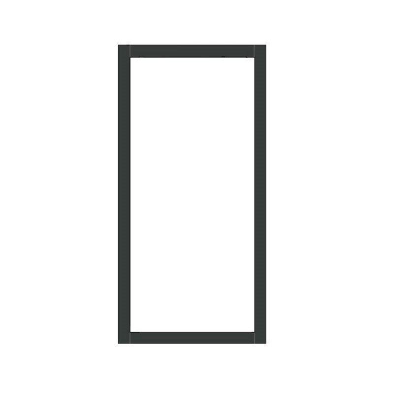 Kiinteä ovi Isomax Antrasiitti