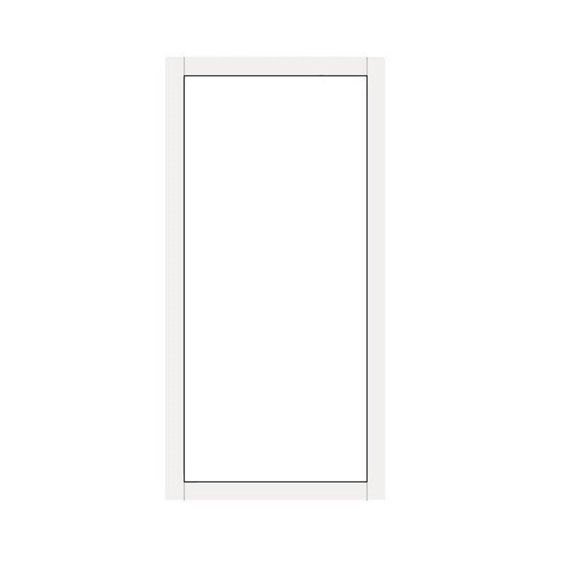 Kiinteä ovi Isomax Valkoinen