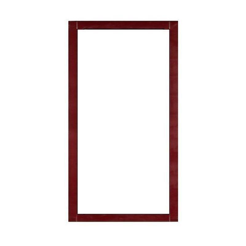 Kiinteä ovi Isomax Viininpunainen