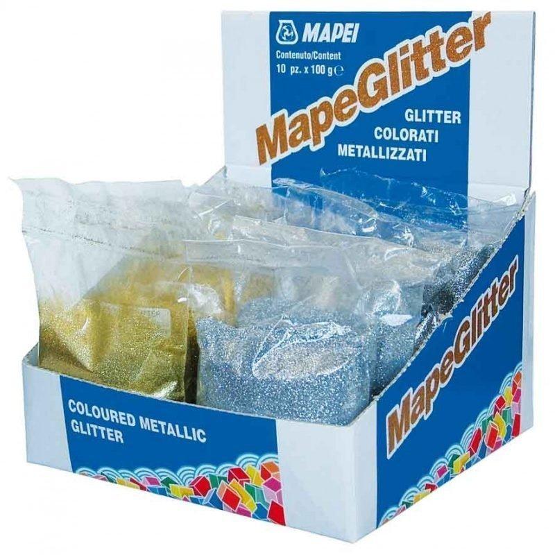 Kimalle-efekti Mapeglitter Silver 100 g