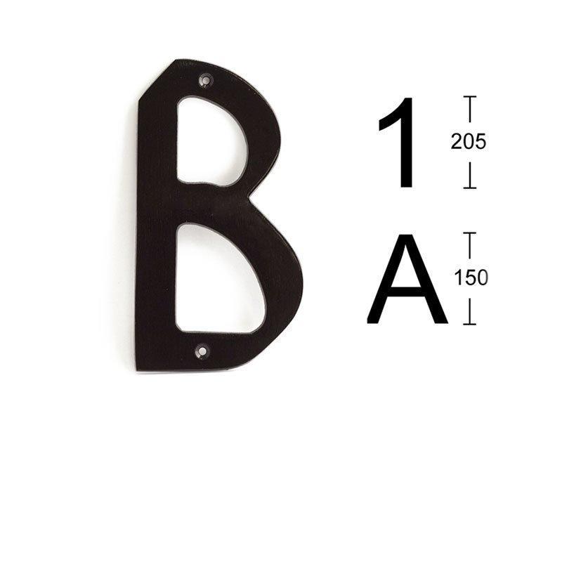 Kirjain Habo 574 Musta