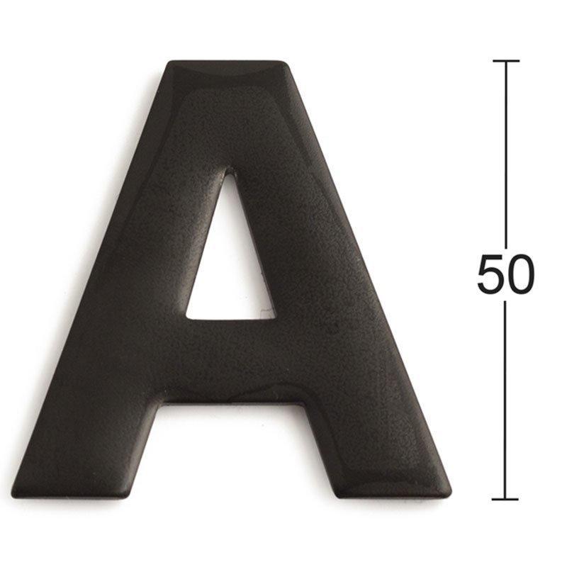 Kirjain Habo GRF50 Musta