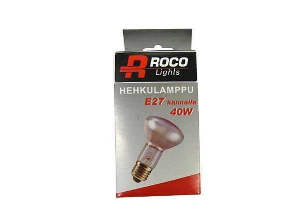 Kohdelamppu E27 40w Roco Lights