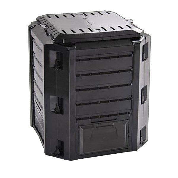 Kompostori 380l Ikst380c Musta Muovinen Prosperplast