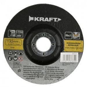 Kraft Hiomalaikka 125x6
