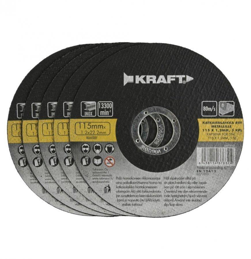 Kraft Katkaisulaikka 115x1