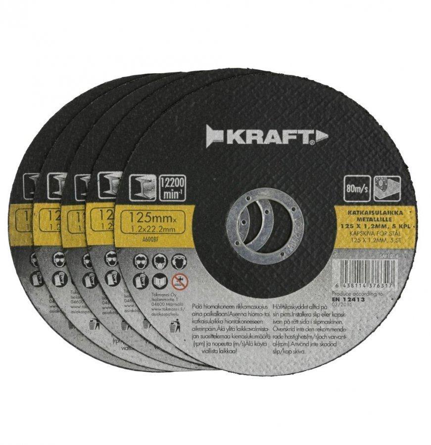 Kraft Katkaisulaikka 125x1