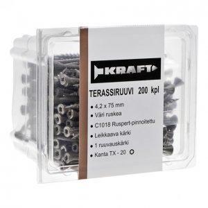 Kraft Terassiruuvi 4