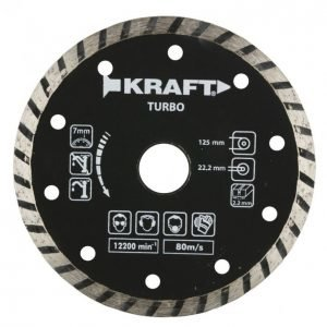 Kraft Timanttilaikka 125mm Turbo