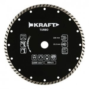 Kraft Timanttilaikka 230mm Turbo