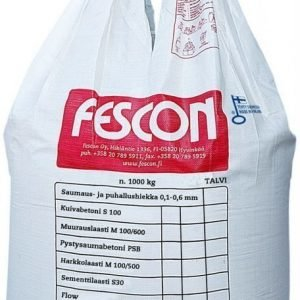 Kuivabetoni Fescon S - 100 1000 kg suursäkki
