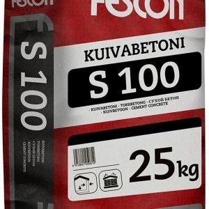 Kuivabetoni Fescon S - 100 25 kg säkki