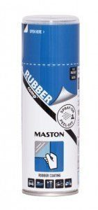 Kumimaalispray Sininen 400ml Maston Rubbercomp