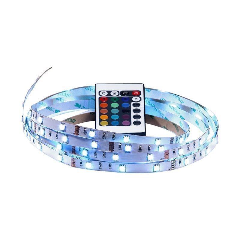 LED-nauha kaukosäätimellä LED strip 4m Nordlux Valkoinen