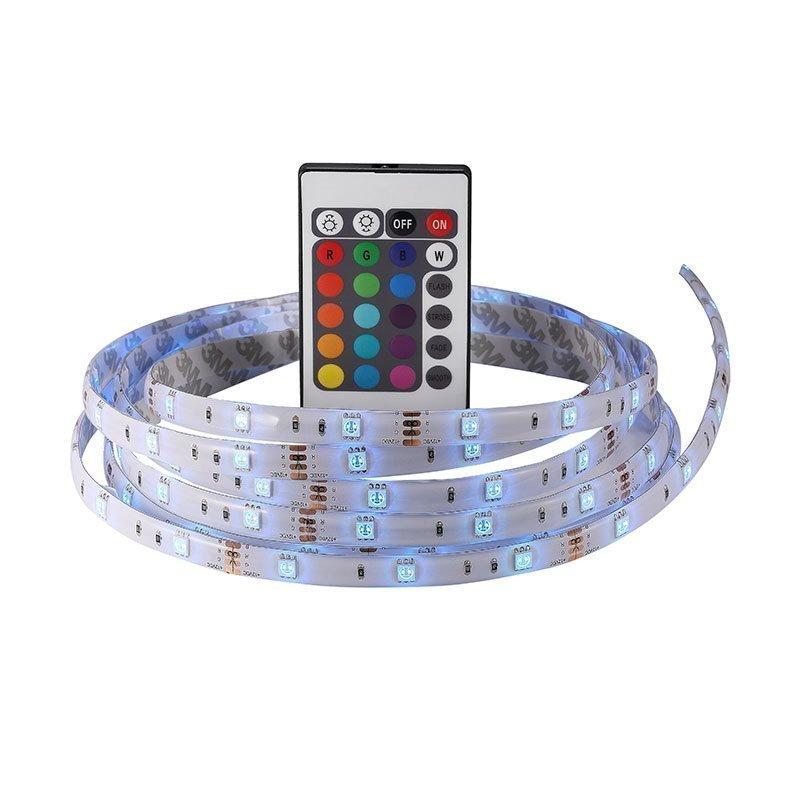 LED-nauha kaukosäätimellä Nimba 3m Nordlux Valkoinen