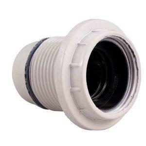 Lampunpidin E27 Kierre Valkoinen Electrogear