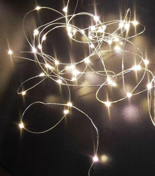 Lankavalosarja 100 Lamppua Lämmin Valkoinen Jääkristalli