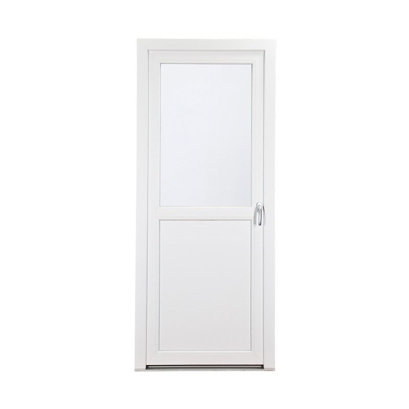 Lasiovi Yksinkertainen PVC Valkoinen