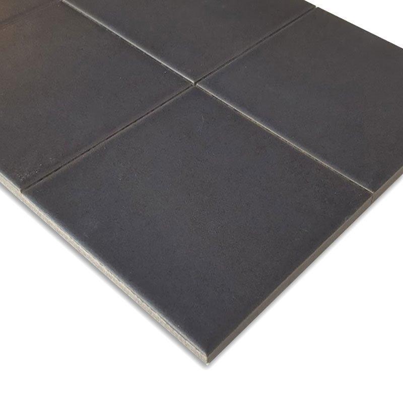 Lattialaatta Fanovo 10x10 Musta