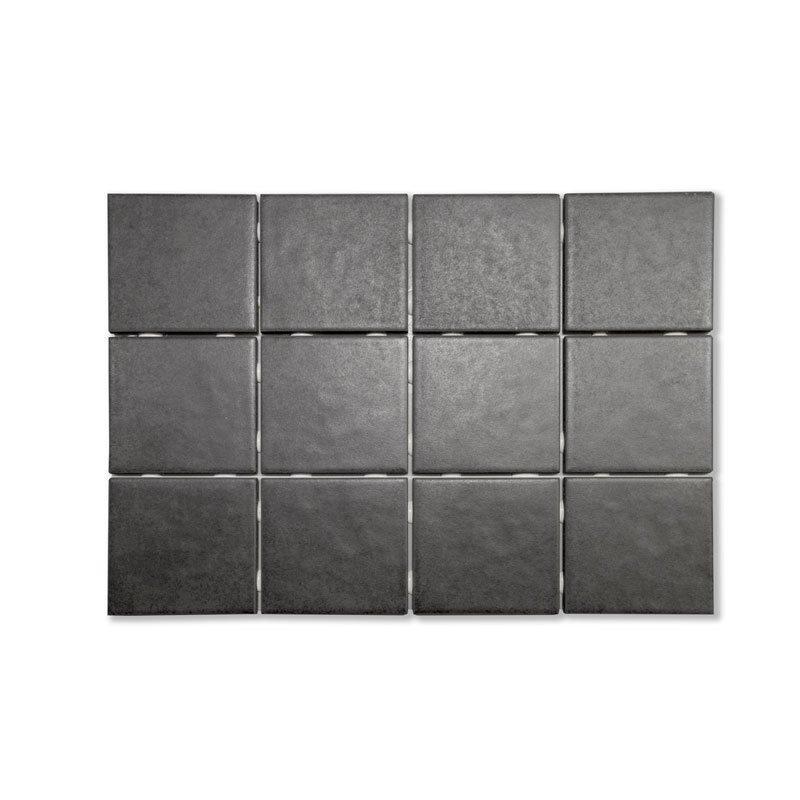 Lattialaatta Palma Musta 10x10