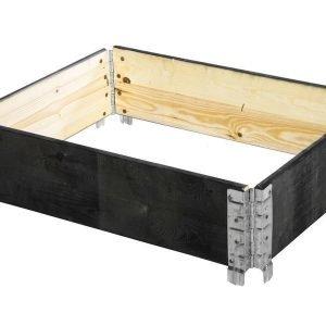 Lavakaulus / Istutuslaatikko 60*80cm Puinen Musta